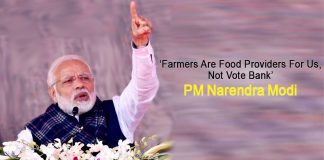 Farmers are food providers for us -no vote bank