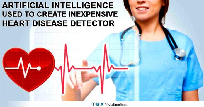 Artificial Intelligence used to create inexpensive heart disease detector