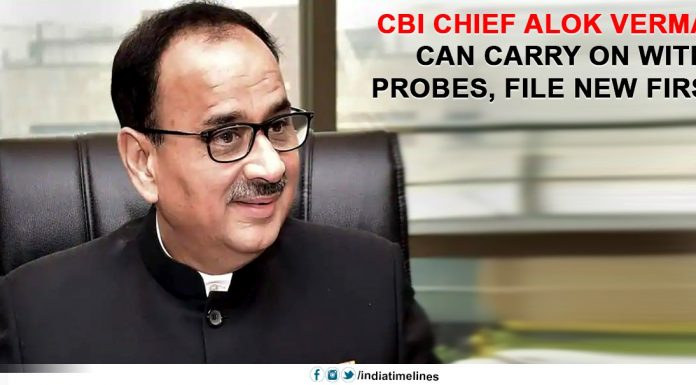 CBI chief Alok Verma can carry on with probes