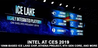 Intel in CES 2019