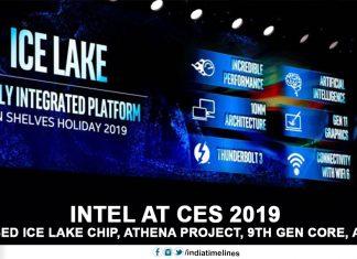Intel in CES 2019