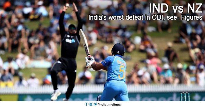 India's worst defeat in ODI