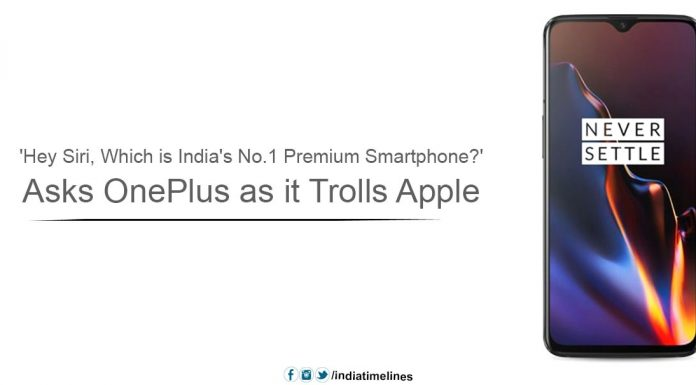 OnePlus Trolls Apple After Becoming Leading Premium Smartphone