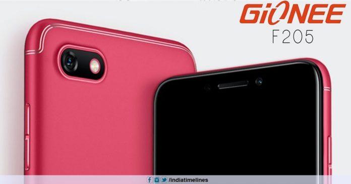 Gionee F205 Pro Price in India