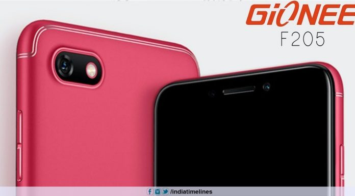Gionee F205 Pro Price in India