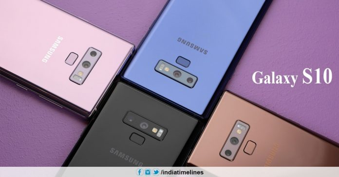 Samsung Galaxy S10 Launched in February 2019