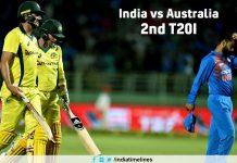India vs Australia 2nd T20I
