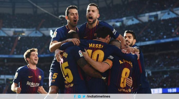 Real Madrid v Barcelona live stream