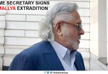 UK Home Secretary signs Vijay Mallya extradition order