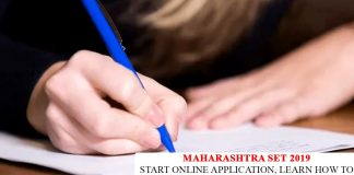 Maharashtra SET Application Form 2019
