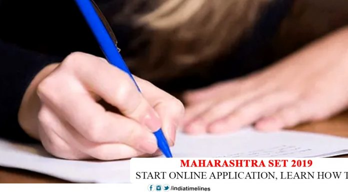 Maharashtra SET Application Form 2019