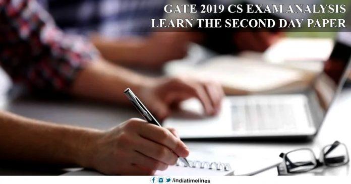 GATE 2019 CS Exam Analysis