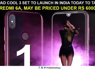 Coolpad Cool 3 set to launch in India today to take on Redmi 6A