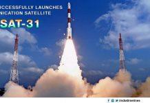 India successfully launches communication satellite GSAT-31