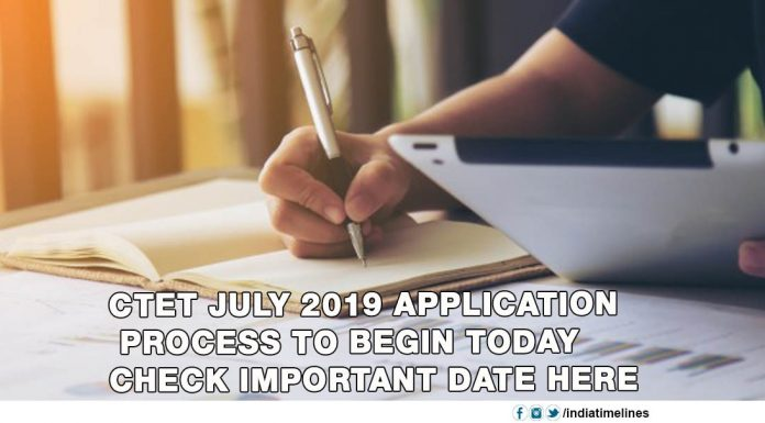 CBSE CTET 2019 July notification