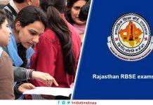 Rajasthan RBSE exams 2019