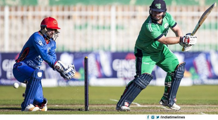 Ireland beat Afghanistan by five wickets