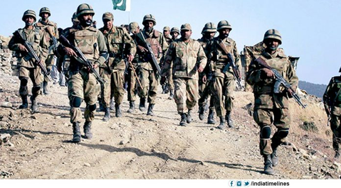 Pakistan army on high alert