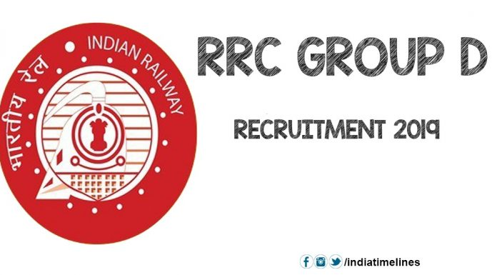 RRC Recruitment Group D 2019