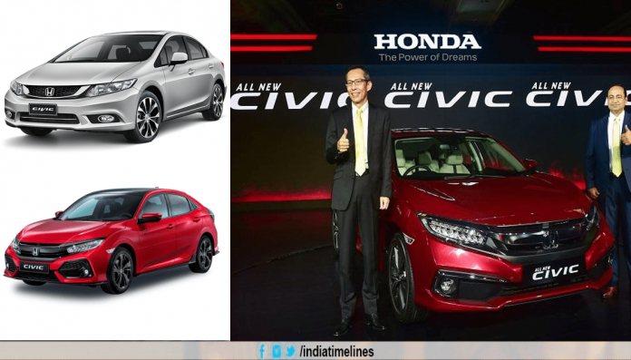 Honda Civic launched in India