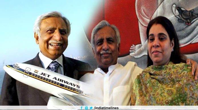 Naresh Goyal and his wife Anita Goyal to exit Jet Airways today