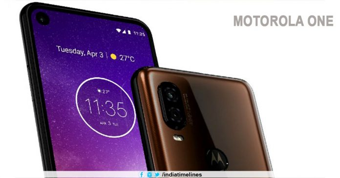 Motorola One Vision render reveals punch-hole display