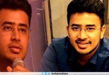 'OMG' Tejasvi Surya tweets after BJP picks 28-year-old