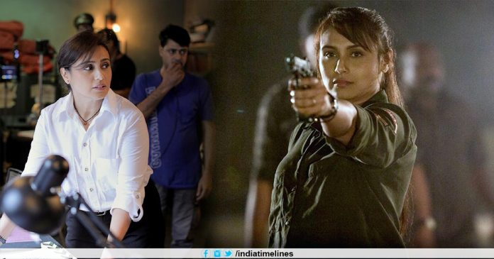 Rani Mukerji commences the shooting of Mardaani 2
