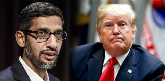 Google CEO committed to US