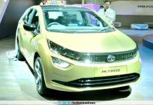 Tata Altroz EV Showcased At Geneva Motor Show