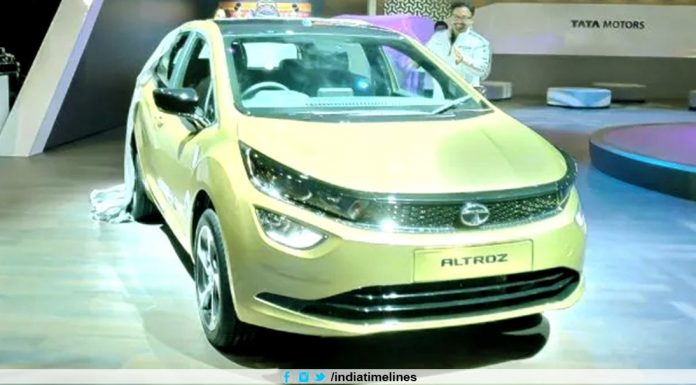 Tata Altroz EV Showcased At Geneva Motor Show