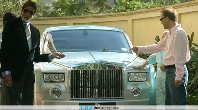 Amitabh Bachchan sells Rs 3.5 crore Rolls Royce Phantom