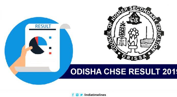 Odisha CHSE Result 2019