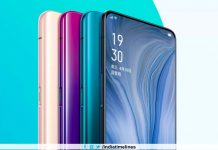 Oppo Reno with pop-out selfie camera