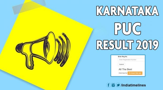 Karnataka 2nd PUC Results 2019 Name Wise