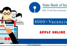 SBI Clerk Recruitment 2019