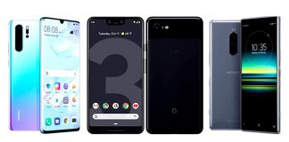 Huawei P30 Pro vs Google Pixel 3 XL vs Sony Xperia 1