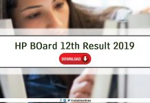 HP Board 12th Result 2019 Name Wise