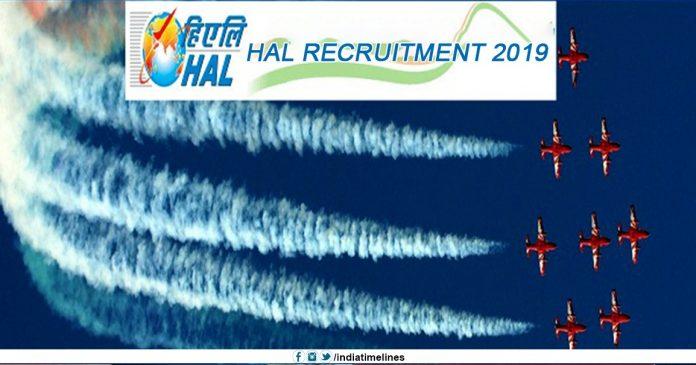 HAL Recruitment 2019