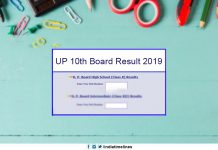 UP High School Result 2019 Name Wise