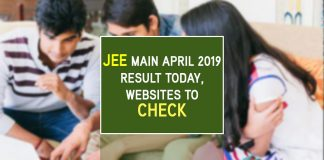 Download JEE Main Result 2019