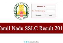 Tamil Nadu 10th Result 2019