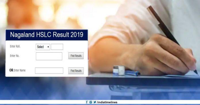 Nagaland HSLC Result 2019