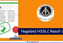 NBSE Class 12th Result 2019