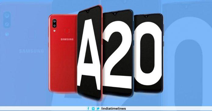 Samsung Galaxy A20 to Go on Sale