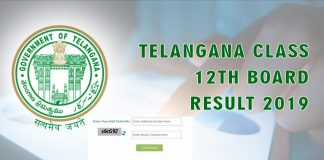 TS Inter 1st/2nd Year Results 2019 Name Wise