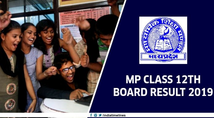 MPBSE 12th Result 2019