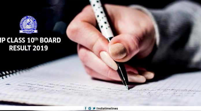 MPBSE 10th Result 2019