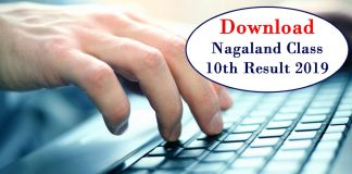 Nagaland class 10th result 2019