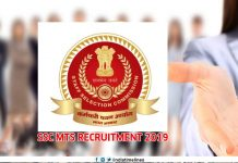 SSC MTS 2019 Recruitment